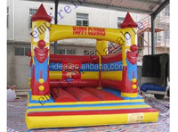 Happy clowns bouncy castle for kids for sale BH030