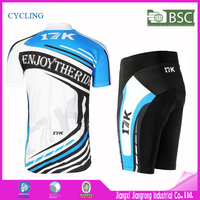 Free Sample Custom design Cycling wear full zipper Short Sleeve with digital printing sublimation cycling jersey