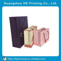 Wholesale high quality promotion gift paper shopping bag