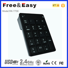 High quality bluetooth keyboard l for ipad mini case 19key