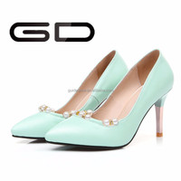 wholesale good price fancy red bottom high heel girls shoes