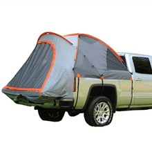 Portable truck roof top tent for outdoor camping