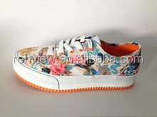 Customized Vulcanized Canvas Shoes Made In China