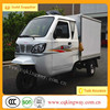 2015 Popular closed cargo box cargo tricycle cabin cargo tricycle three wheeler for Asia and Africa