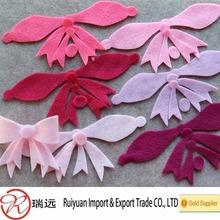 Fashion design Laser Cut durable felt flower as tieback