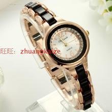 Luxury Fashion colorant match bracelet watch diamond circle dial watch women's table