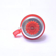 2015 top quality outdoor equipment colourful novelty alloy bell for mountain bike