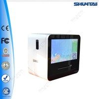 46'' wireless LED advertising player wechat touch screen kiosk