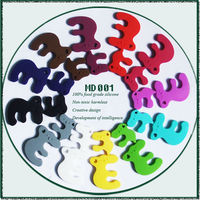 China Supplier New Product BPA Free Food Grade Chewable Silicone Giraffe Teether