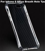 Factory outlet Tpu Soft dot Case Shock Resist Round Cornor Tpu Case For iphone 6 6plus