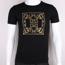 fashion new trend O neck manufacturing 95% cotton 5% elastane t shirt men