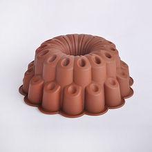 2014 nueva llegada de utensilios para hornear de silicona molde de la torta de la flor