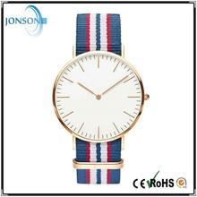 2015 New vogue custom brand 6mm thin minimalist japan movt quartz advance watch