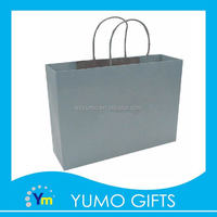 customized fresh nature shopping chrome paper bag with high quality