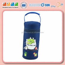 Sedex ICTI Factory OEM ODM Polyester Bottle Cover Bag With Handle for Baby Milk