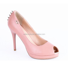 2015 New Design Top Quality Peep Toe Sexy Mature High Heel Shoes