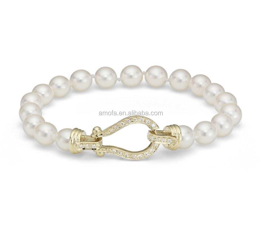 high quality cheap custom pearl bracelet buy pearl