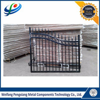 Best quality widely used residential aluminium gates for villa
