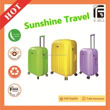 Kid Trolley School Bags Zip Lock Travelling Plastic Luggage Travel Bag