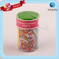 4-Cell Sprinkles/Sugar Pearls/Jimmies/ For Cake Decoration