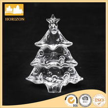 Hand Made Christmas Tree Shaped Glass Ornaments For Christmas Decoration