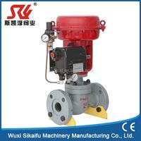 welded type pneumatic globe valve