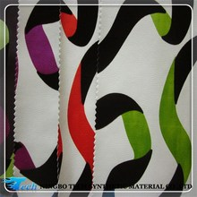 flocking on pu leather for upholstery use, sofa fabric raw material, fabric for sofa