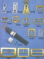 Brass Custom Metal Coated Belt Buckle