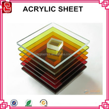 colored painting high quality custome sign thick acrylic display board
