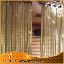 sorter's metallic sequin fabric curtain drapery,sequin fabric