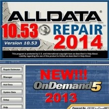 mitchell on demand auto repair software with alldata 10.53+2014 mitchell med& heavy truck +manager+ tecdoc 33 in1 with 1TB HDD