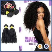 indian Kinky Curly Hair, Virgin Indian Afro Curl Hair, Virgin indian Hair Weft