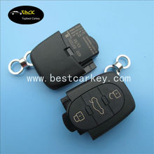 Hot Selling 3+1 buttons car remote control case for vw remote casing vw key blank