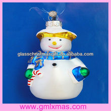 2015 New style christmas glass ornament in Europe & the USA,Wonderful glass christmas ornament
