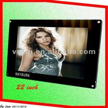 22 inch wifi/3g touch screen Video Wall LCD with Narrow Bezel