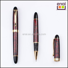 maroon colored with gold plated parts metal medium quality roller ball pen for business man