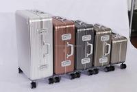 "Aluminum travel case & luggage 18"""
