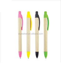 Promotional Recycle Pens ball point pen plastic ball pen