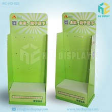 Corrugated cardboard folding display stand, socks display stands