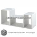 pantalla de nivel de escritorio de madera / gabinete de ropa al por menor / montaje de tiendas de moda