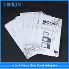 Alta qualidade 3 em 1 nano sim card adaptador para ipod nano para micro/micro para padrão/nano para o cartão sim normal