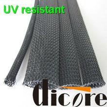 Flame retandard PET expandable braided sleeving /braided cable sleeve /flexo pet