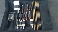 27 Pieces Roll Up Gun Cleaning Tool Kit