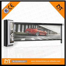 Electrical Advertising Barrier Gate , Automatic Boom Barrier Gate for parking and vehicle access