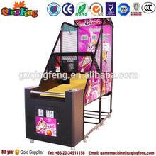 Guangzhou cheap electronic common basketball game machine vending machine
