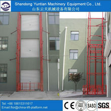 Hydraulic guide hydraulic lifting platform table lift/elevator guide rail price