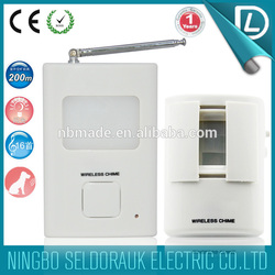 Direct factory supply Remote Control Long Range shop entry door chime motion detector