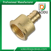 """High Quanlity Forged 3/4"""" PEX Brass Female npt thread Hose Fitting connector Threaded Adapter For Water"""