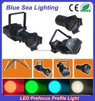 200WLED white/4IN1 prefocus profile spot led theatre lighting