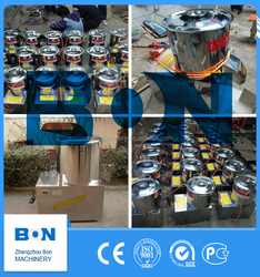 fruit and vegetable chopper and shredder for food processing plant